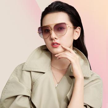 帕森太阳镜女 明星宋祖儿同款墨镜时尚猫眼潮2019新品