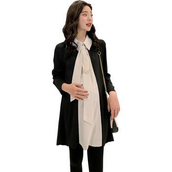欧丽妈咪孕妇春装套装两件套早春新款套装孕妇裙