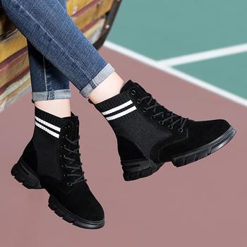 短靴秋冬季新款粗跟袜靴韩版靴子
