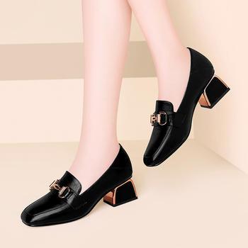 软妹英伦加绒小皮鞋女冬季皮鞋