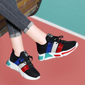 新款韩版运动鞋女士秋季跑步鞋