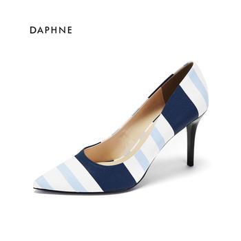 Daphne/达芙妮尖头高跟单鞋1017101801