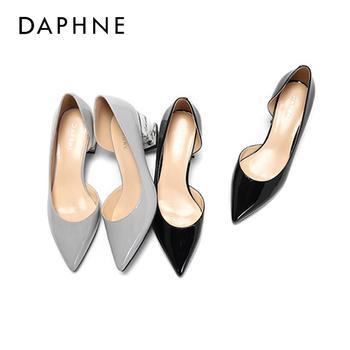 Daphne/达芙妮浅口高跟鞋1017102011