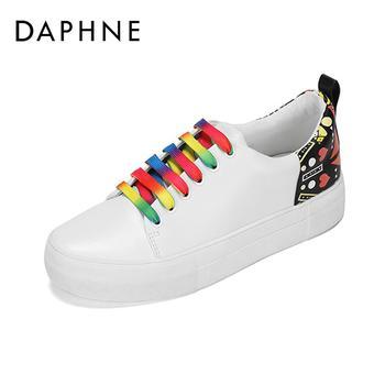 Daphne/达芙妮平底小白鞋1017101039