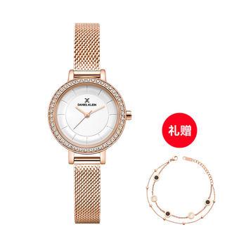 DANIEL KLEIN 【林允同款】DK手表镶钻时尚ins石英手表30mm