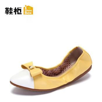 鞋柜蛋卷单鞋女1117101201