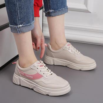 安欣娅新款百搭小?#20180;?#31995;带女鞋