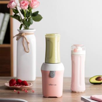 小熊榨汁机便携式双杯鲜甜享受鲜榨果汁随时带走
