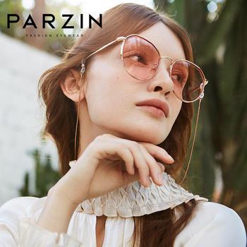 帕森新品时尚太阳镜女圆框潮墨镜