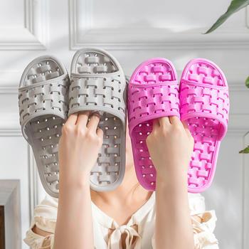 乐拖 浴室拖鞋情侣款沥水透气立体编织 仿藤编款凉拖