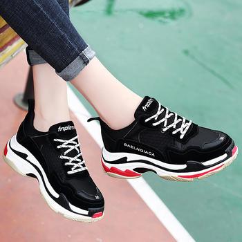 韩版运动鞋老爹鞋跑步百搭休闲鞋