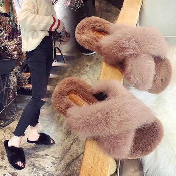 CONGC 韩版新款毛毛拖鞋女chic夏外穿时尚凉拖社会鞋子