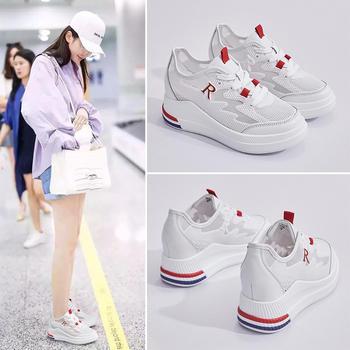 ZHR新款内增高小白鞋休闲运动女鞋韩版百搭ins网红鞋