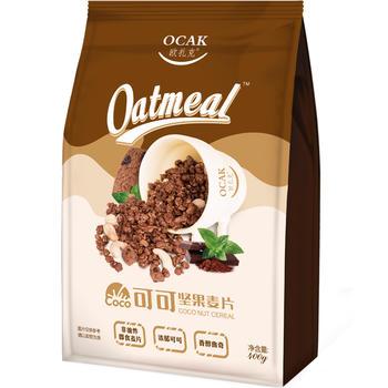 欧扎克可可坚果麦片400g/袋早餐即食曲奇燕麦