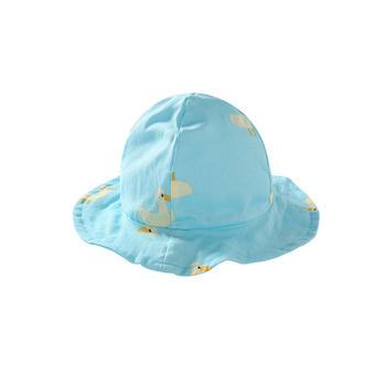 舒贝怡 宝宝帽子夏季超萌遮阳帽薄