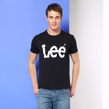 Lee 男士春夏新款圆领印花logo短袖T恤L323903RXK11