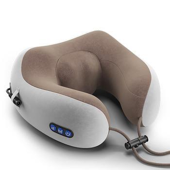 港德U型电动按摩枕按摩靠垫颈椎按摩器