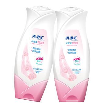 ABC女性私处温和呵护隐私部位柔嫩肌护理液200ml*2瓶
