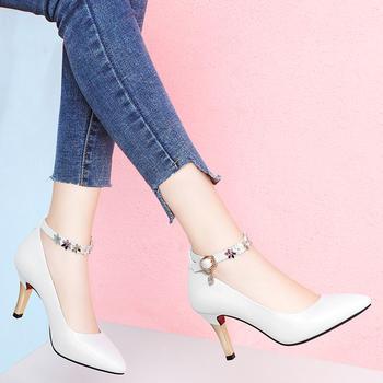 网红高跟鞋潮网红仙女风细跟凉鞋