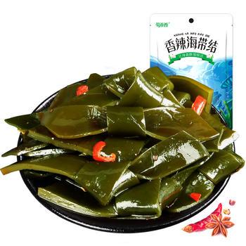 蜀道香香辣海带结120g   特色川蜀 麻辣零食