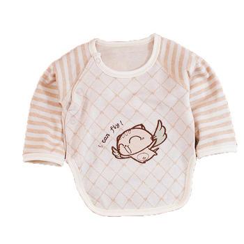 谷斐尔纯棉新生婴儿衣服半背衣和尚服初生0-3个月宝宝