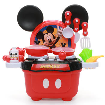 迪士尼米奇米妮小厨房旅行过家家套装
