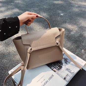 雅诗罗 2019新款简约女包翅膀包单肩斜挎包手提包包
