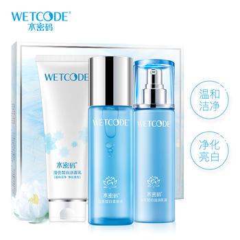 中国•丹姿水密码沁滢透白护肤礼盒,水感嫩白