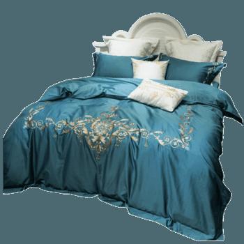 苏娜国际(SUNA)欧式60s长绒棉床上用品四件套贡缎提花