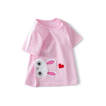 Cipango 夏季新款可爱宝宝短袖T恤 婴幼儿纯棉衣服