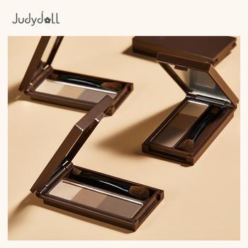 Judydoll橘朵立体塑型三色眉粉渐变新品学生初学者
