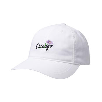 MLB美职棒新款洋基队棒球帽软顶帽字母花卉帽子