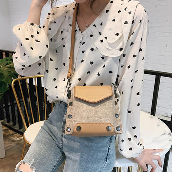宾尼兔韩版新款女包单肩个性小包包时尚百搭斜挎包