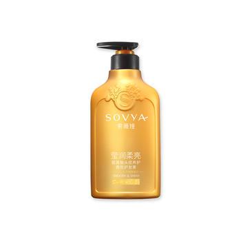 索薇娅山茶花莹润柔亮氨基酸头皮养护香氛护发素500ml