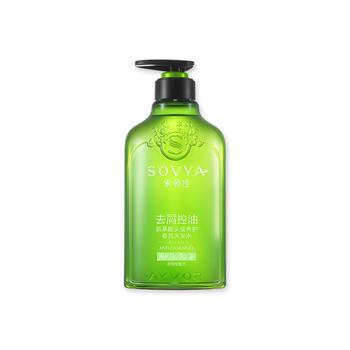 索薇娅白茶去屑控油氨基酸头皮养护香氛洗发水500ml