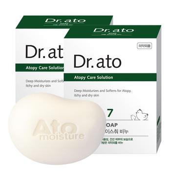 爱托Dr.ato婴儿敏感肌洗手洗脸香皂90g*2