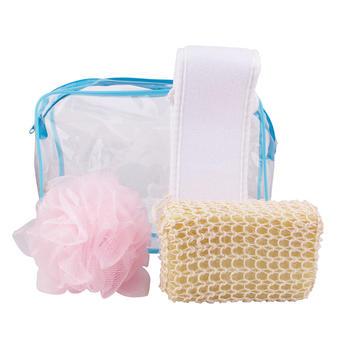 优家(UPLUS)洗澡沐浴清洁用品三件套