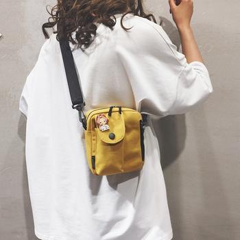萨兰丹迪女士竖款小单肩包送挂件随机chic韩版斜挎包