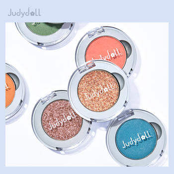 Judydoll橘朵柔光幻彩单色眼影金葱偏光 仙女棒