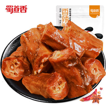 蜀道香 香辣鸭脖118g*3袋 四川特产小吃零食 卤味休闲食