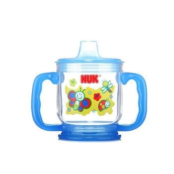 NUK 透明带柄喝水杯 单个装  颜色随机