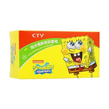 SpongeBob 海绵宝宝 海洋清新亲肤香皂 100g