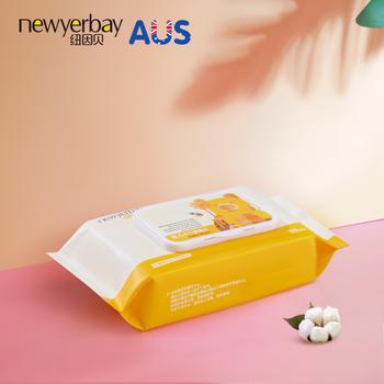 纽因贝婴儿湿巾80抽 手口专用儿童宝宝湿巾