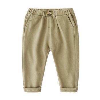贝壳元素运动裤秋装男童装皮筋腰带休闲裤子kzc575