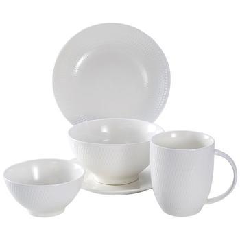 多样屋 塞纳餐具圆碗盘碟子马克杯北欧风