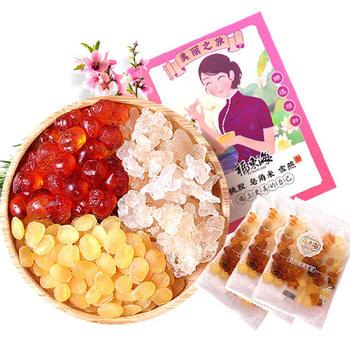 福东海佳人饮桃胶双夹皂角米雪燕三组合150g