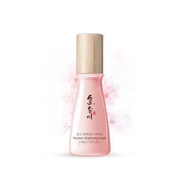 韩朵 日本樱花补水保湿提亮粉嫩面部精华液 孕妇适用