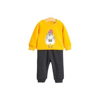 cipango 儿童秋冬卫衣套装男女童加厚保暖卫衣