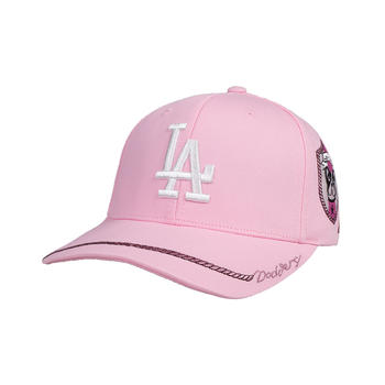 MLB棒球帽卡通小狗图案刺绣棒球帽