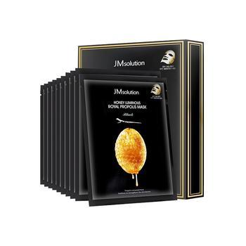 JMsolution 水光 蜂蜜面膜蚕丝补水滋润超薄保湿 10片/盒